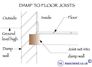 18a Damp floor joist-grnd high