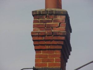 deterioration to chimney