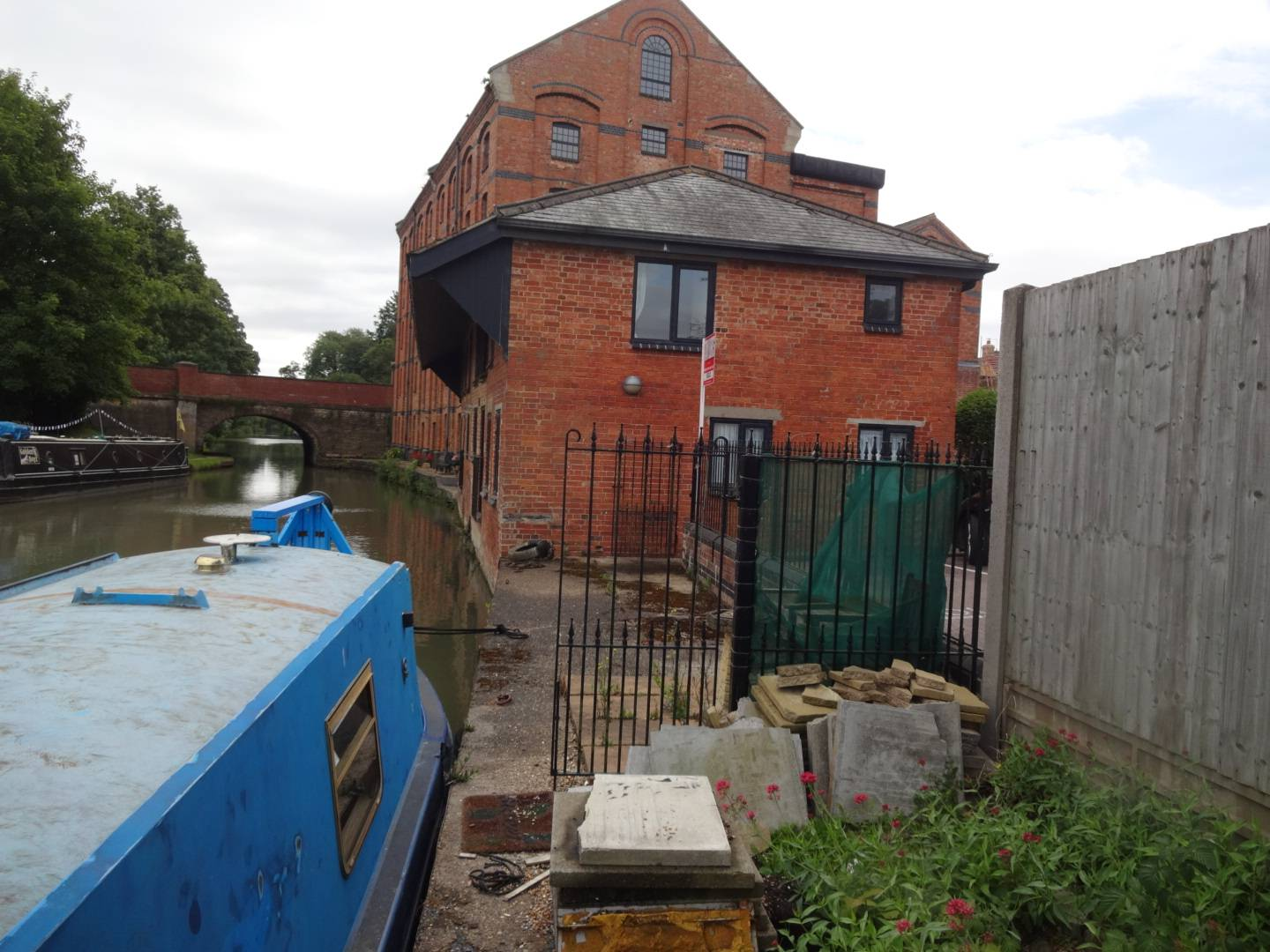 canal side listed building