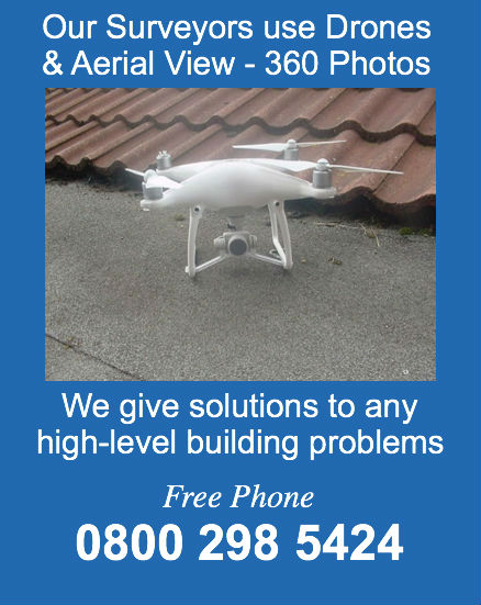 drones and building surveys